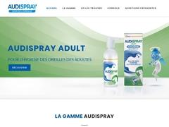 Audispray : Produit pour nettoyer les oreilles - Mannuaire.net