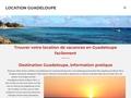 Location Guadeloupe - Location de bungalow gites et villas a Deshaies en Guadeloupe