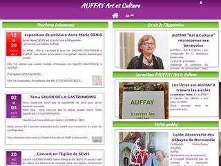 L\'association AUFFAY Art et Culture est née suite à la publication de ses statuts au Journal Officiel le 13 décembre 2008.