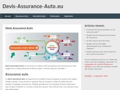 Comparer les contrats d'assurance sur Devis Assurance Auto