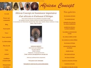 ART AFRICAIN : African Concept