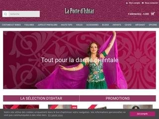 Boutique web de la danse orientale la Porte d'Ishtar