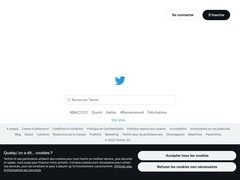 Compte Twitter