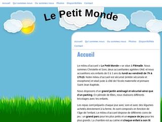 """Crèche """"Le Petit Monde"""""""