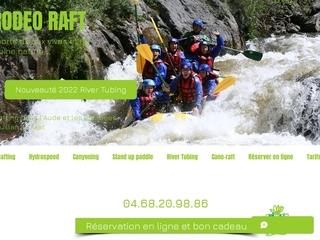 Rodeo raft, le rafting sportif dans l'Aude