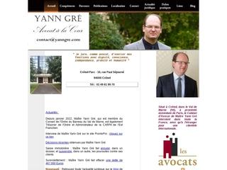 Cabinet Yann Gré - Avocat à Créteil 94