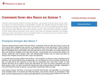 L'annuaire des fleuristes en Suisse romande