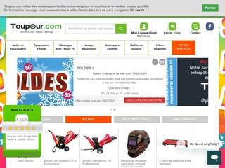 Toupour : Outillage et bricolage en ligne