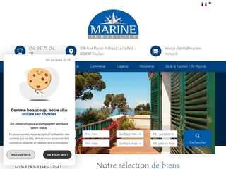 Agence Immobilière Marine immobilier