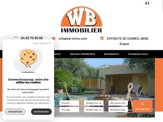 WB IMMOBILIER Mougins / Le Cannet