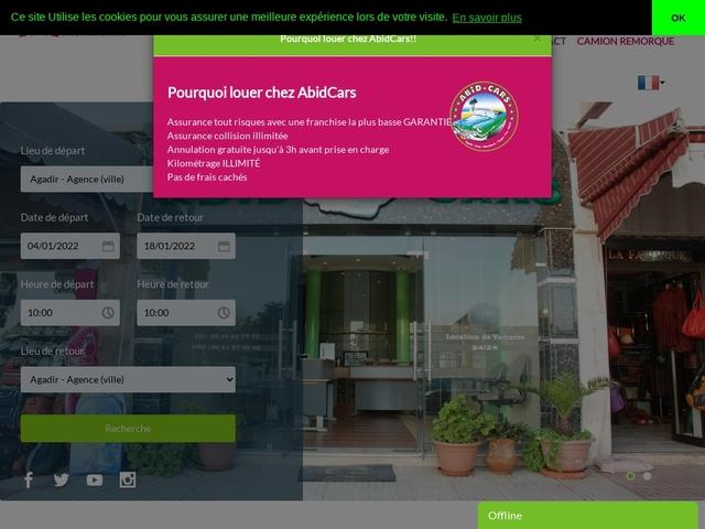Abid Cars : location de voitures à Rabat
