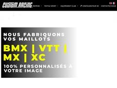 Custom Racing - Fabrication de vetements sportifs personnalises - Sublimation intégrale
