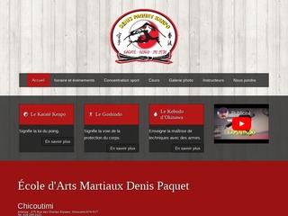 Ecole d'arts Martiaux Denis Paquet