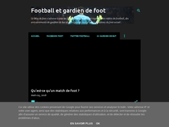 Football et gardien de foot - Mannuaire.net