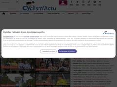 Cyclism'Actu : tout sur le cyclisme en ligne