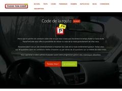 Un examen du code de la route sous contrôle