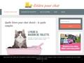 Litière pour chat: un site dédié à l'hygiène du chat