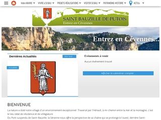 Site officiel de Saint Bauzille de Putois