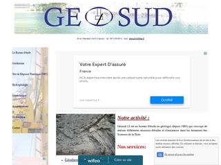 geosud 13, Géothemie verticale, Forage d'eau souterraine