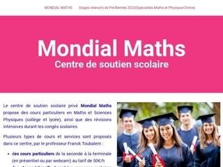 Mondial Maths