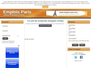 CV, offres et demandes d'emploi sur Paris