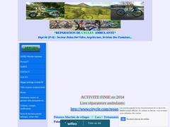 Anthony recyclo-mobile 66 réparation de cycles ambulante (marché, domicile...)