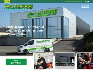Vente et location de machines de manutention