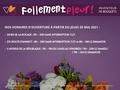 Détails : Follement Fleur -Fleuriste à Annecy (Haute-Savoie)