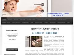 Serrurerie et serrurier 13002 ou 2eme Marseille