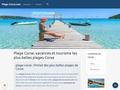 Plage Corse : tourisme en corse, photos des plages de corse, location et vacances en Corse