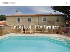 Gite en vendée avec piscine chauffée : la Grange ou la location gite le Bistrot