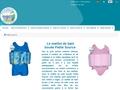 Détails : Petite Source  -  Maillot de bain bouée enfant sécurisé