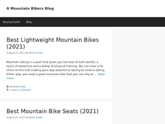 Easton Bicycle Products