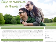 Grande traversée du Vercors (site officiel)
