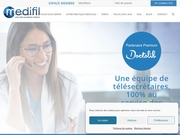 Medifil, l�expert en secr�tariat t�l�phonique m�dical