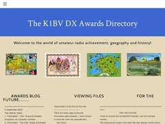 K1BV DX Awards Directory - Home Page