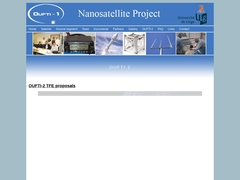 OUFTI-1 Nanosatellite :: Welcome