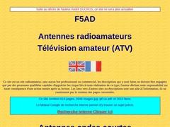 F5AD ATV antennes, baluns