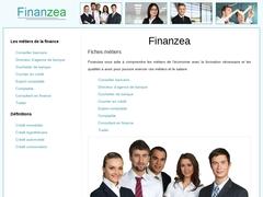 Finanzea : portail sur la finance avec définitions et fiches métiers