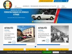 FFVE Fédération Française des Véhicules d'Epoque