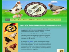 German zebrafinch International community AZ/DKB
