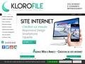 Détails : KLOROFILE - Création Internet Annecy