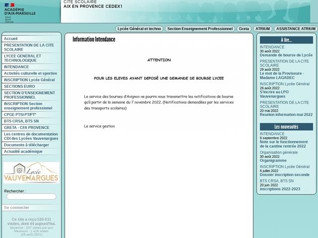 Lycée Vauvenargues