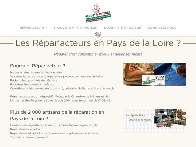 Les artisans Répar'Acteurs Pays de la Loire