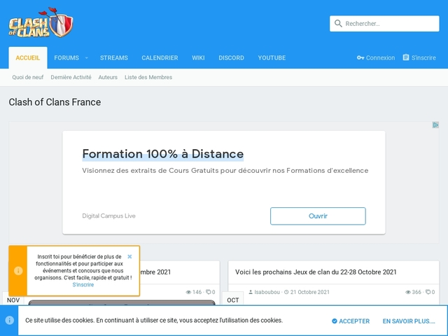 Clash of Clans France