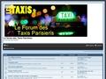 FORUM DES TAXIS PARISIENS