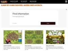 Clash of Clans Tools - Plans de bases et bien plus !