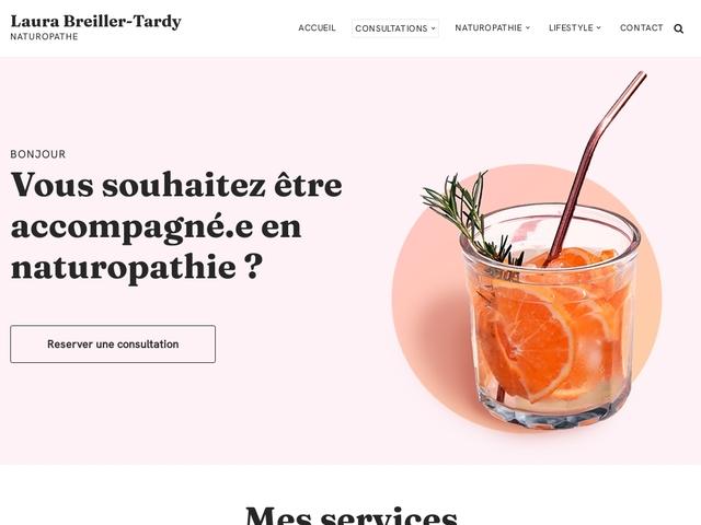 Laura Breiller-Tardy Naturopathe Lyon