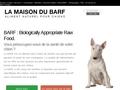 BARF - Aliment complet naturel pour chiens - La Maison du Barf