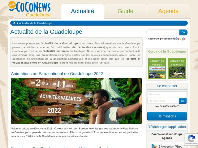 Guide Guadeloupe